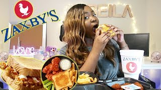 ZAXBY'S Mukbang || NUCLEAR SPICY Wing Challenge? 🔥 Q&A ✨