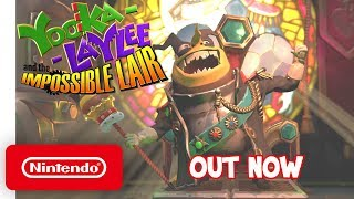 Yooka-Laylee and the Impossible Lair - Launch Trailer - Nintendo Switch