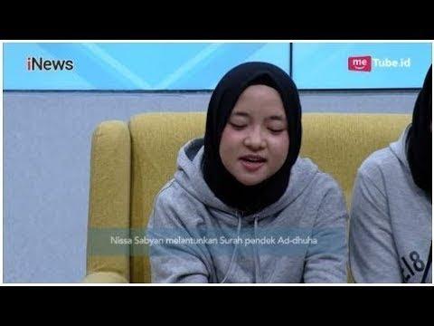 Subhanallah, Indahnya Suara Nissa Sabyan Melafalkan Ayat Alquran Part 02 - Alvin & Friends 1408