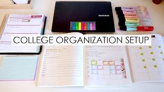 College Organization Setup