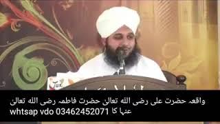 HAZRAT ALI(R.A) kay yakeen ki intaha Islamic bayan in urdu short clips