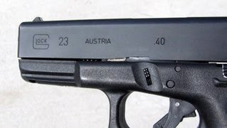 Trick Shooting My Glock Model 23 - Why I Carry One For Defense