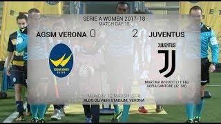 HIGHLIGHTS: AGSM Verona vs Juventus Women 0-2 | 12.3.2018