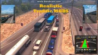 American Truck Simulator Mods Realistic Traffic