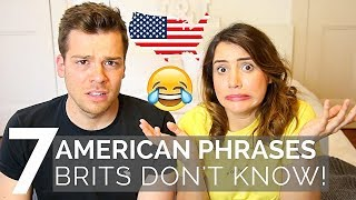 🇺🇸 AMERICAN Phrases BRITS Don