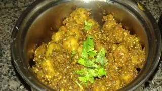 Rajsthani gatta curry Recipe- Gatta Masala Recipe- Besan ke Gatte ki Sabji-बेसन के गट्टे की सब्जी