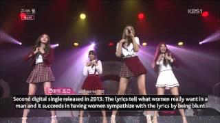 [ENG SUB] BESTie - 140919 KBS Concert Feel