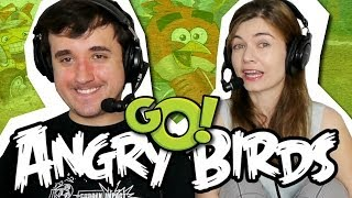 ELA NÃO ME DEIXA JOGAR!!! - Angry Birds: GO! #01