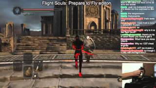 Dark Souls 2 - Flight Stick PvP Kill