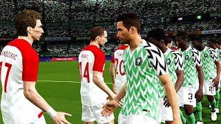 Croatia vs Nigeria | FIFA World Cup Russia 16 June 2018 Gameplay