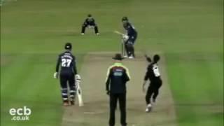 Mustafiz 1st match wicket in Sussex