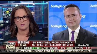 """Nile Gardiner: A """"No-Deal Brexit"""" Is the """"Only Realistic Way Forward Now"""" for Britain"""