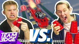 GTA 5 Rocket Car Cup Stack Challenge!