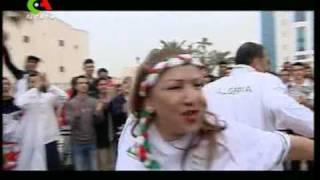 Cheb Toufik et Hassiba Amrouche: Allez les verts