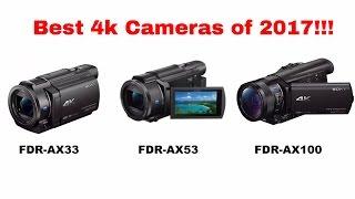 Best 4K Video Cameras in 2017