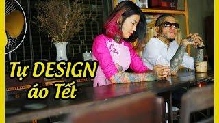 Vợ chồng tattoo hot nhất Sài Gòn chuẩn bị áo xuân đón tết  Đăng Vinh & Phạm Mai