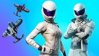 NEW EPIC WHITEOUT & OVERTAKER SKINS!! *Pro Fortnite Player* // 1,350 Wins (Fortnite Battle Royale)