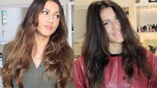 Evde Saçlarımın Rengini Nasıl Açtım ? Ombre Saçlar