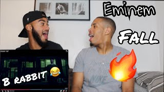 Eminem - Fall | ITS LOOKING MESSY FOR MGK (EPIC UK REACTION!)