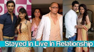 Top 10 Bollywood Live in relationship Couples - Bollywood Cutting