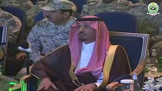 الأمير خالد بن عياف وزيرالحرس الوطني يلتقي أبنائه خريجي كلية الملك خالد العسكرية ويدشن مشاريعا جديدة