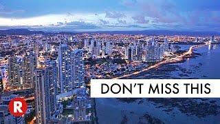 Panoramic View Of Panama City At Night!