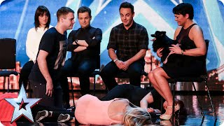 Whatever you do, DON'T look into Hypnodog's eyes... | Britain's Got Talent 2015