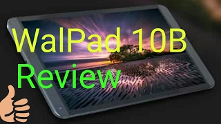 Upcoming Walton Walpad 10B review first on youtube