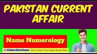 Predictions Pakistan 100% accurate Prediction World Class Numerologist Mustafa Ellahee Darti tv.P1