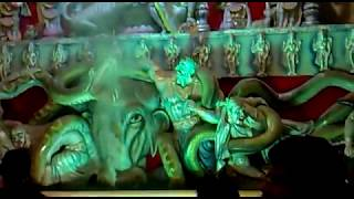 Durga Puja 2009 -  Pani Tanki Chowk,  Katihar Bihar, Inside View