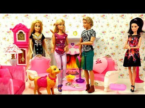 Barbie Ev Dekorasyonu Evcilik! Ken Barbie'ye Sürpriz Ev Hediyeleri Alıyor!