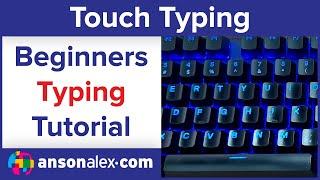 Free Typing Tutorial - The Basics