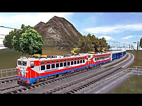 Indian Train Simulator - Drive - Double Heading WAG 5 Deccan Odyssey - Mumbai to Surat