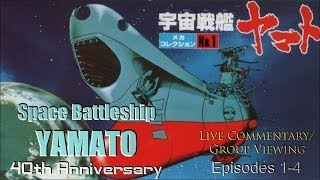 Watching the ORIGINAL Space Battleship Yamato - Episodes 1-4