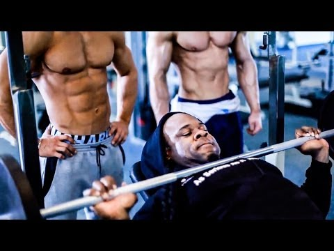 Workout W/ Kai Greene Jeff Seid & Alon Gabbay (Full Video)