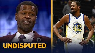Stephen Jackson thinks KD's comments on MJ and Kobe are 'not a shot' at LeBron | NBA | UNDISPUTED
