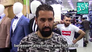 Palestinians: What do you think of Israelis that work for peace?