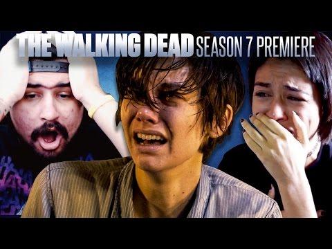The Walking Dead Season 7 Premiere Fan Reaction Compilation