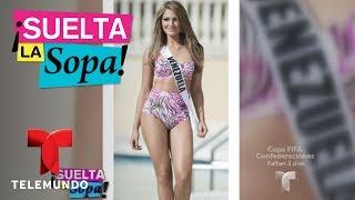 Migbelis Castellanos habló de su experiencia en Miss Universo   Suelta La Sopa   Entretenimiento
