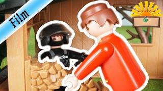 Gefangener SEK Polizist - FAMILIE Bergmann #15 | Staffel 2 - Playmobil Film deutsch