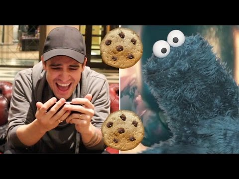 Brendon Urie Reacts To Cookie Monster s Victorious Panic Cover