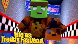 LIFE AS FREDDY FASBEAR! - Minecraft Life w/TinyTurtle
