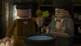 LEGO Harry Potter Years 5-7 Walkthrough Part 9 - Year 6 Half-Blood Prince - Liquid Luck