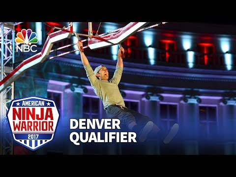 Lorin Ball at the Denver Qualifiers American Ninja Warrior 2017