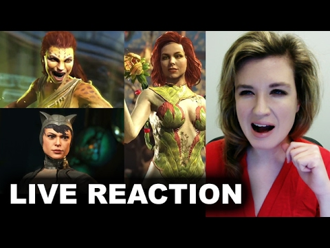 Injustice 2 Here Come the Girls Trailer REACTION