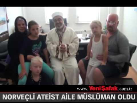 Ateist aile Kur'ân'dan etkilenerek Müslüman oldu