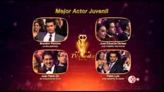 Premios TVyNovelas - Jose Eduardo Derbez - Mejor Actor Juvenil