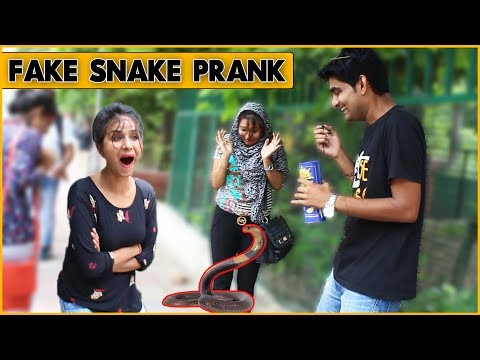 Xxx Mp4 Epic Fake Snake Prank On Cute Girls Prank In India The HunGama Films 3gp Sex