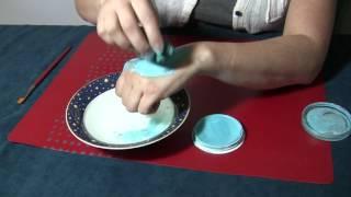 Water-based/Pancake Makeup Tutorial - Mixing & Applying