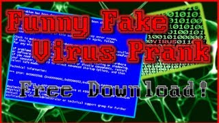 Funny Fake Virus Prank (Harmless) - Free Download - Windows